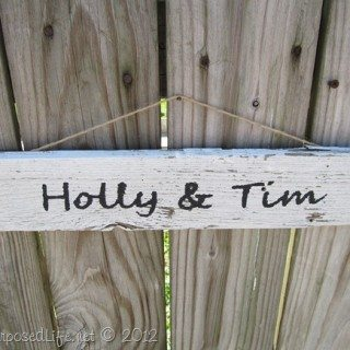 Picket Fence Signs