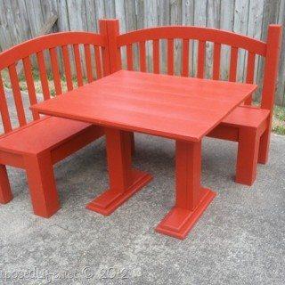 DIY Kids Corner Bench (banquette)