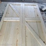 My Repurposed Life-How to Make DIY Barn Doors