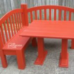 Corner Table Bench for the Kids (banquette)