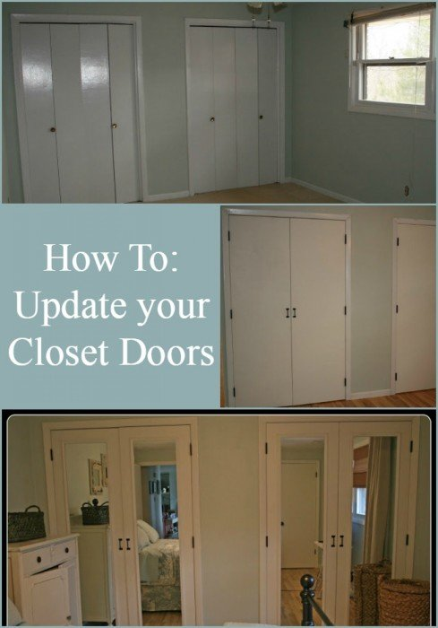 Diy Closet Doors Makeover My Repurposed Life