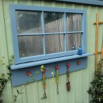 backyard shed makeover