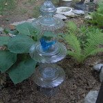 Repurposed Glassware totems & more