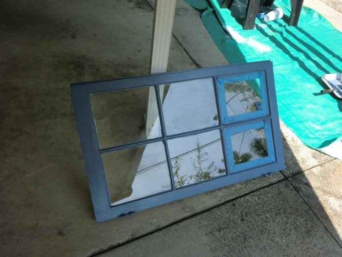 paint window periwinkle blue