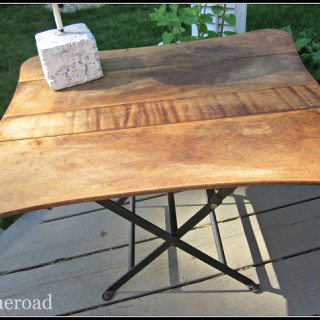 how to join 2 outdoor tables