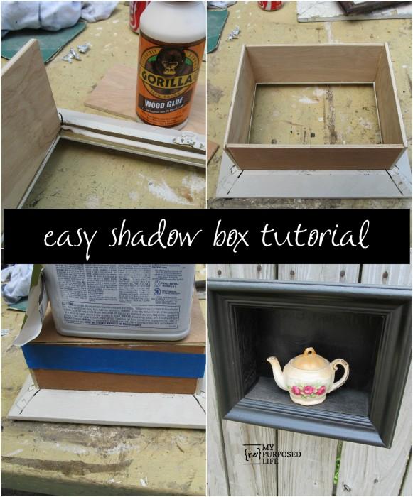 diy shadow box frame