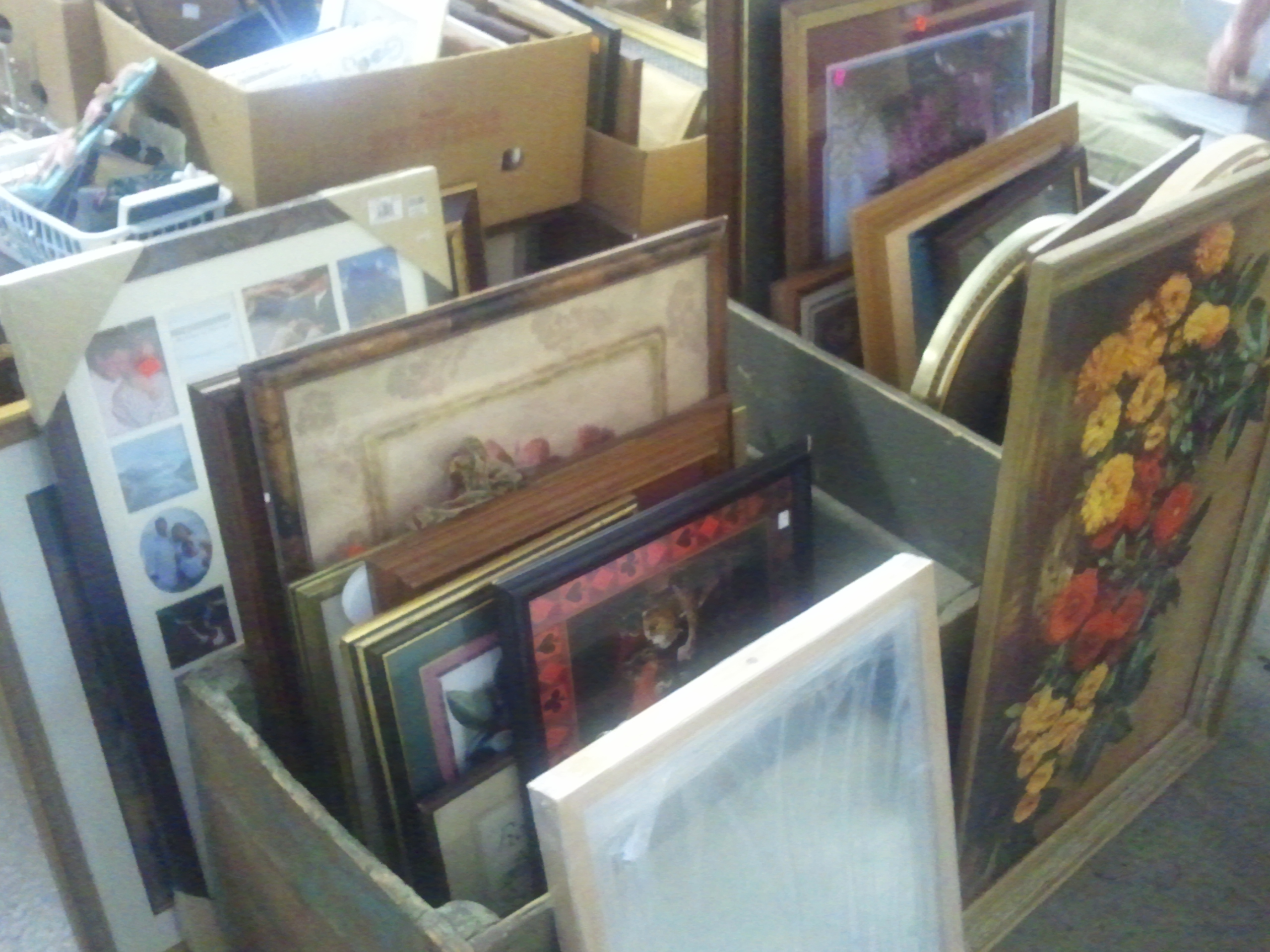 thrift store picture frames