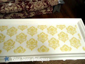 How To Stencil Coffee Table