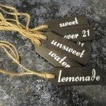 My Repurposed Life - How to Make Beverage Tags