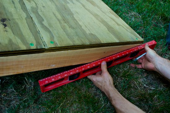 How to build a shed ramp potholes and pantyhose my for How to find a builder