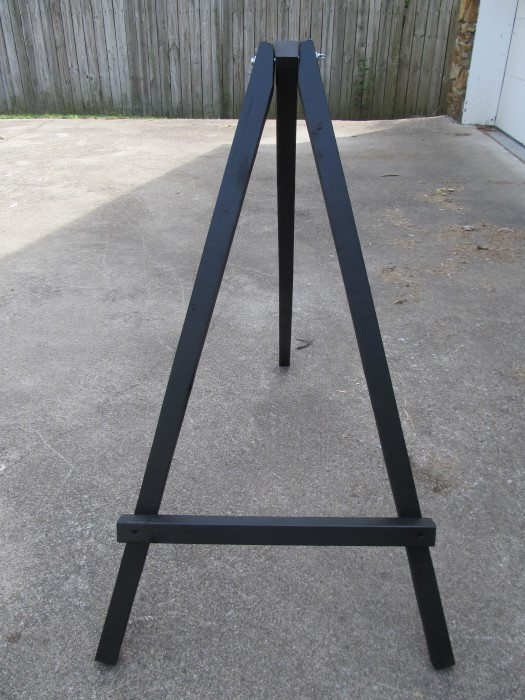 How To Make A Large Display Easel My Repurposed Life 174