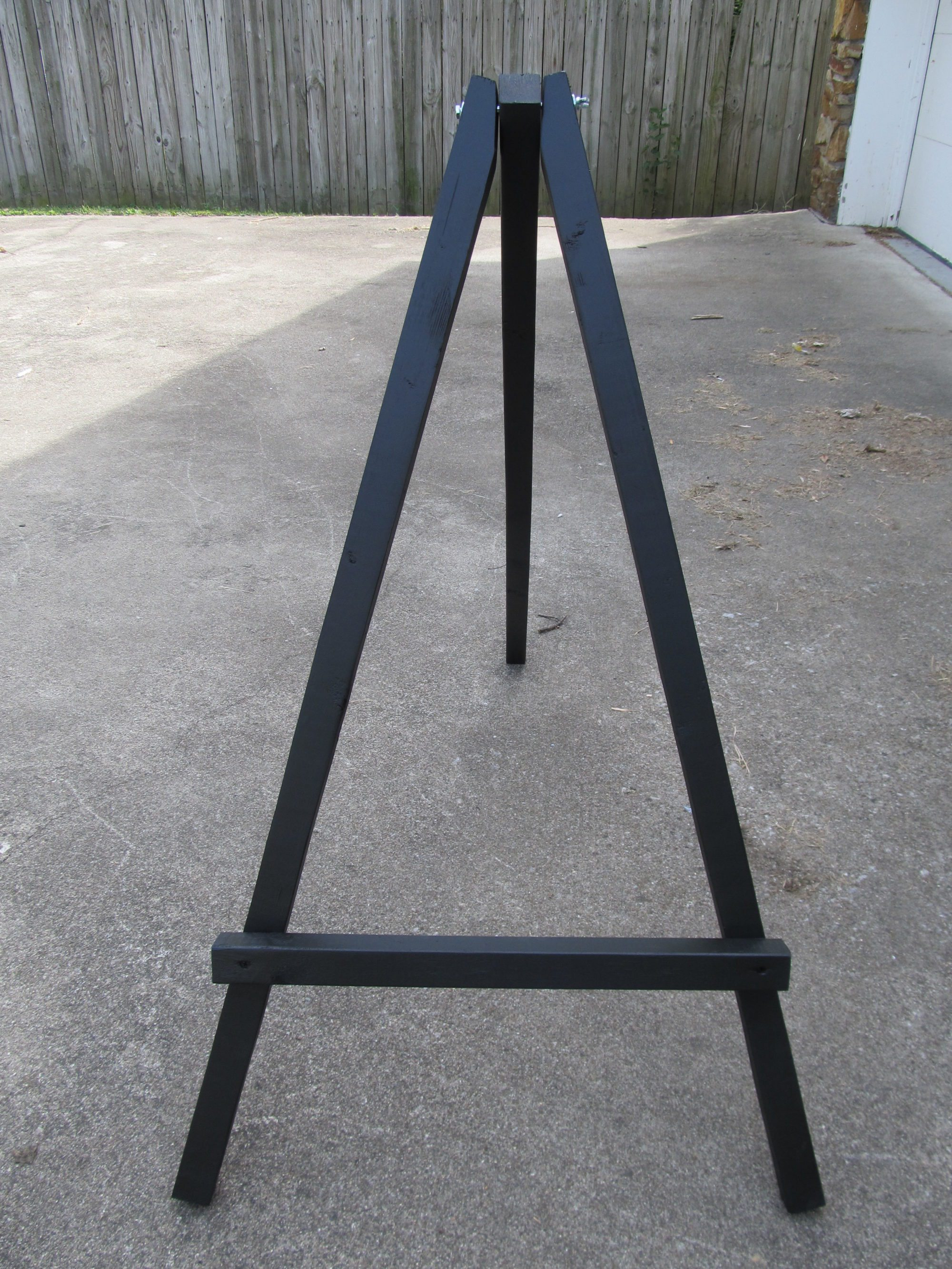 how to make a large display easel my repurposed life