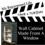 My Repurposed Life Window (wall) Cabinet