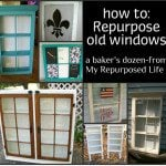 My Repurposed Life-baker's dozen window projects