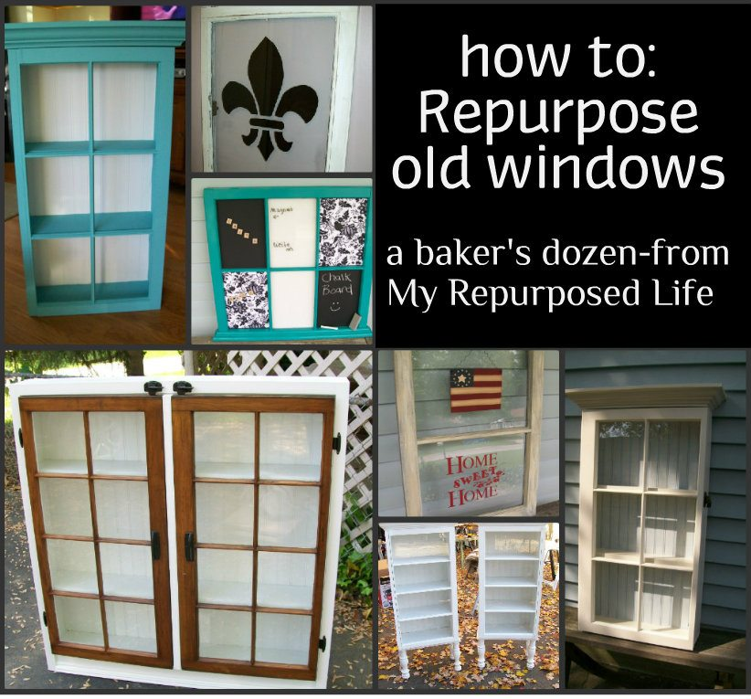 Crafts With Old Doors And Windows