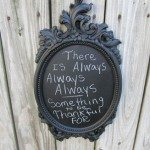 picture frame ideas Plastic frames chalkboards