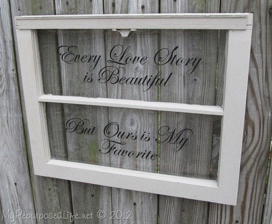 Every love story for Window quoter