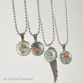flat back marble Jewelry Pendants