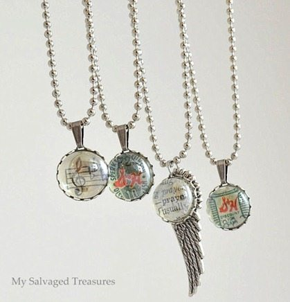 Flat back marble jewelry pendants my repurposed life aloadofball Image collections