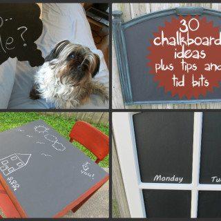 chalkboard ideas