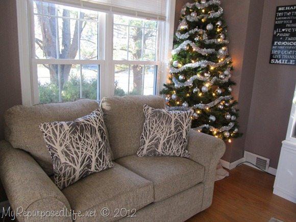Diy Corner Christmas Tree My Repurposed Life
