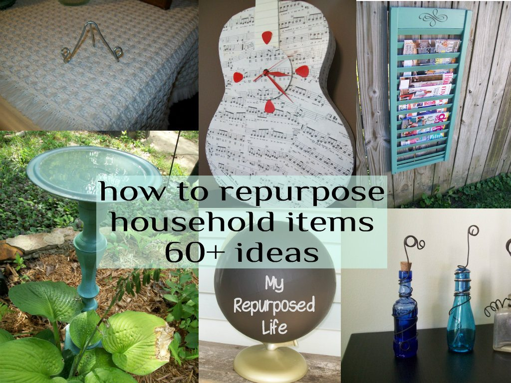 ideas for repurposing household items | just b.CAUSE