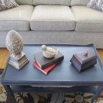 Two Tiered Coffee Table Makeover