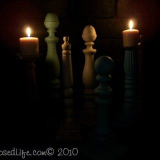 Spindle candlesticks and more
