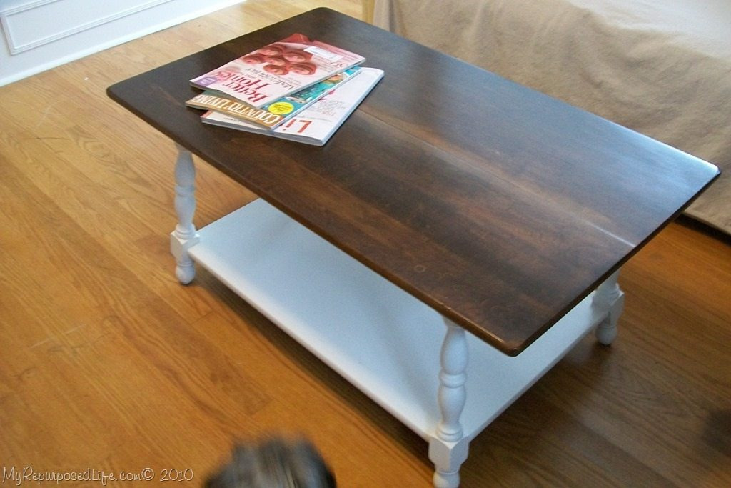 Tips For Refinishing A Coffee Table My Repurposed Life
