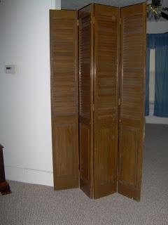 bi-fold doors repurposed