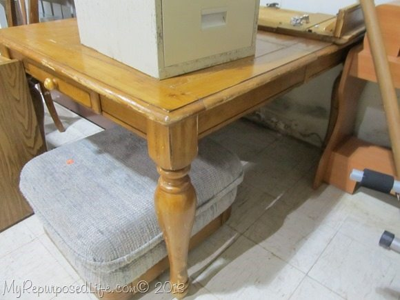 thrift store table