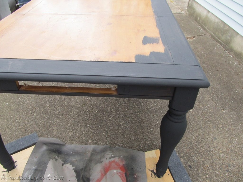 Kitchen Table Paint