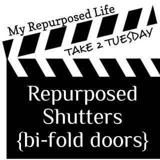 Take 2 Tuesday repurposed shutters