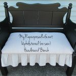 Upholstered Headboard Bench