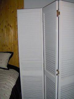 Bifold doors — room divider