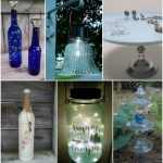 Repurposed Glass Ideas | Plates Jars Bottles