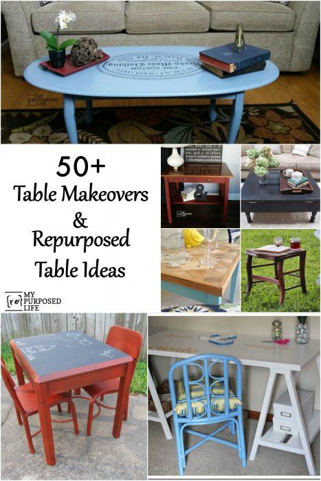Repurposed Table Ideas My Repurposed Life 174