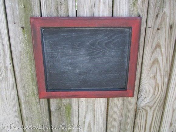 oak chalkboard