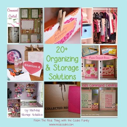 Organizing Ideas and Storage Solutions