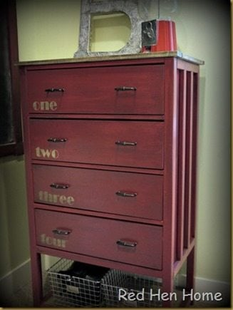 Red Hen Home Handbuilt Bedroom Dresser