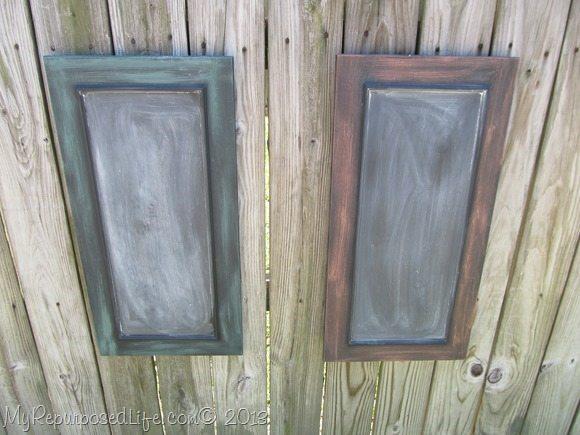 cabinet doors chalkboards