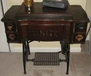 Repurposed Treadle Sewing Machine My Repurposed Life