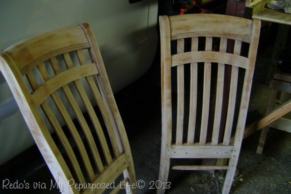 repurposed chairs