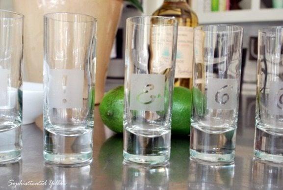 etched shot glasses