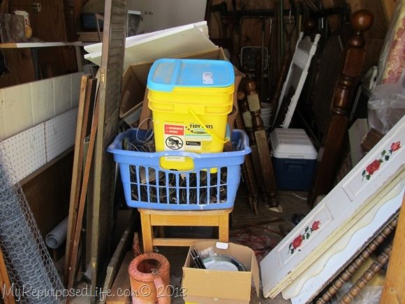 junky storage shed