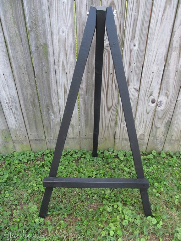 How To Make A Simple Display Easel