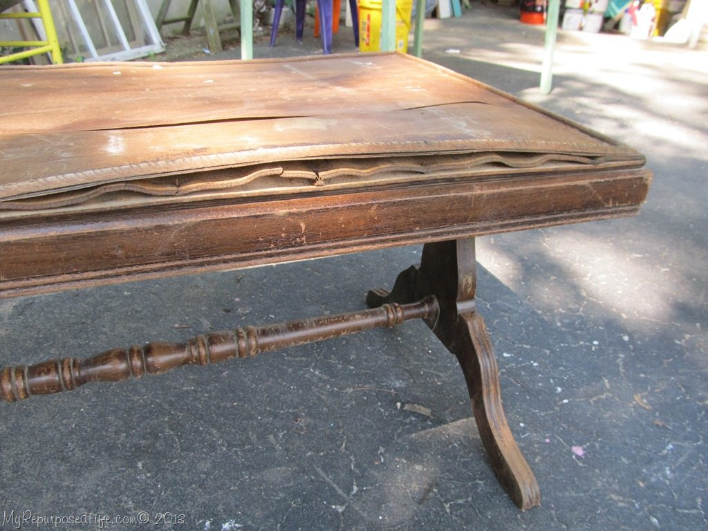 Hardwood Flooring As A Tabletop My Repurposed Life 174