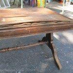 Hardwood Flooring as a Tabletop