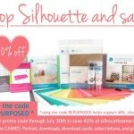 My Repurposed Life Silhouette July Promo