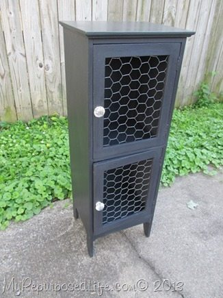 little black cabinet